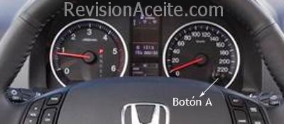 Reajuste De Intervalo En Honda Cr V Revisi 243 N De Aceite
