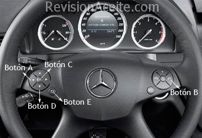 Cuadro-Mercedes-Benz-C-W204-12botones