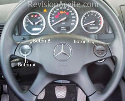 Cuadro-Mercedes-Benz-C-W204-4botones